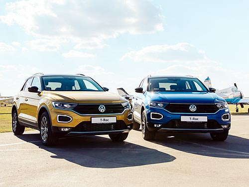 Volkswagen в августе стал №3 по продажам в Украине