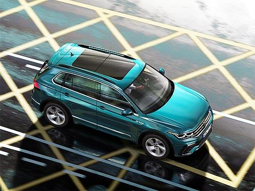 Покупатели нового Volkswagen Tiguan в марте экономят 55 360 грн. - Volkswagen