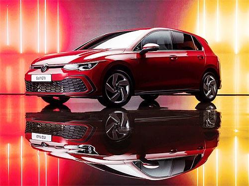 Легенда возвращается. В Украине начали принимать заказы на новый Volkswagen Golf GTI