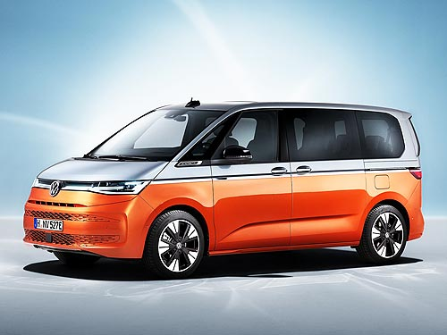 Volkswagen представил Multivan нового поколения - Volkswagen