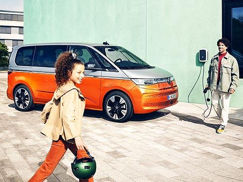 Каким будет минивэн Volkswagen Multivan нового поколения - Volkswagen