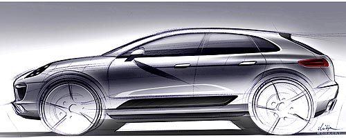 Компактный кроссовер Porsche может называться Majun - Porsche