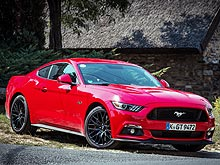 ����� �����. ����������� � ������ ��������� Ford Mustang. �����