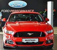 Ford представил в Украине всю «линейку» «заряженных» моделей - Ford