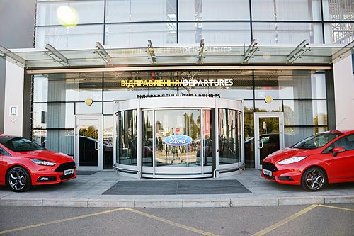 Ford представил в Украине всю «линейку» «заряженных» моделей