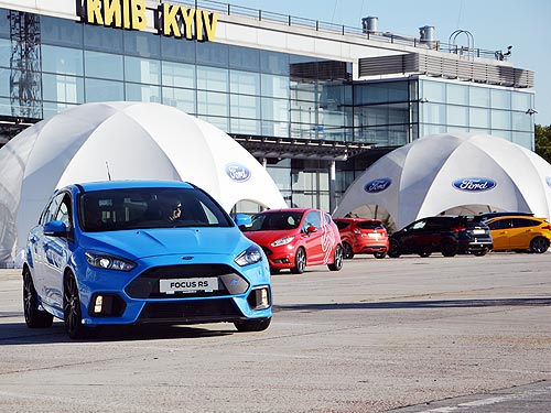 Ford вошел в ТОП-5 лидеров украинского авторынка - Ford