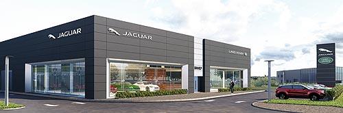 В Украине появится крупнейший концептуальный автоцентр Jaguar Land Rover