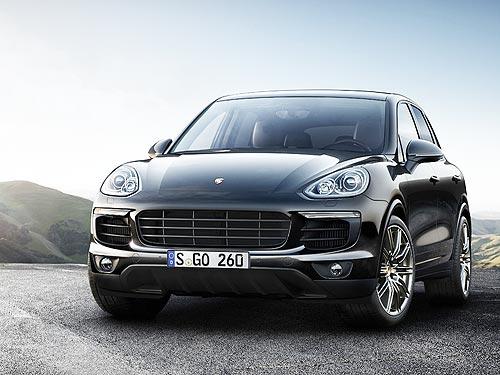 В специальной серии Platinum Edition появились еще две модели Porsche Cayenne S - Porsche