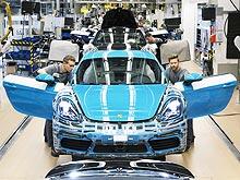 Стартовало производства нового Porsche 718 Cayman