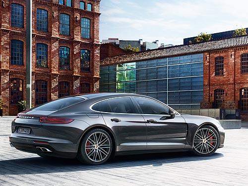 В Украине стартовали продажи нового поколения Porsche Panamera