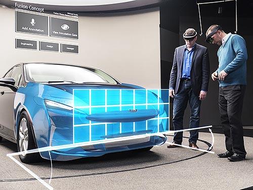 Дизайнеры Ford будут разрабатывать автомобили в 3D-очках - Ford