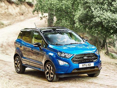 Что поменялось в обновленном кроссовере Ford EcoSport - Ford