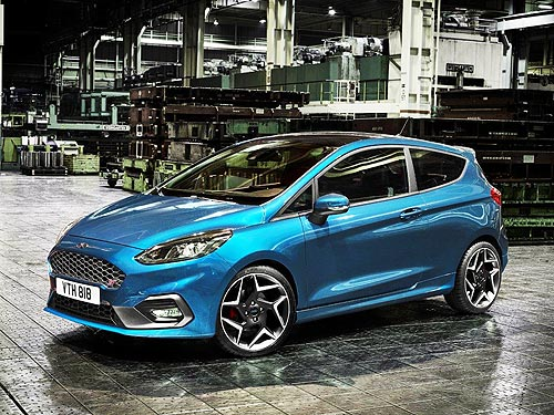 Новая Ford Fiesta ST получит 200-сильный трехцилиндровый двигатель 1,5 л - Ford
