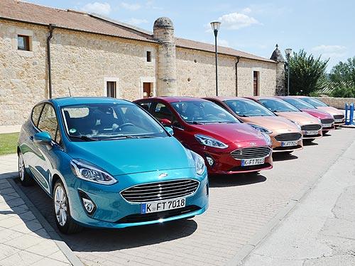 Ford Fiesta стал лучшим бюджетным авто в конкурсе «Всемирный женский автомобиль года» - Ford