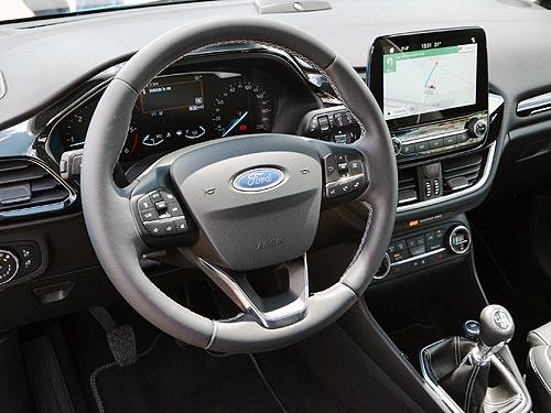 Новый Ford Fiesta заглядывает в премиум-класс. Наш репортаж - Ford