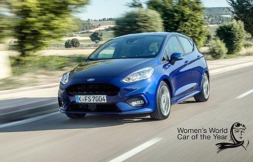 Ford Fiesta стал лучшим бюджетным авто в конкурсе «Всемирный женский автомобиль года»