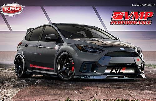 Ford представит 4 тюнингованных Ford Focus - Ford