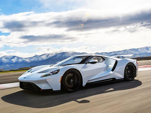 Ford создал суперкар GT для испытания технологий будущего - Ford