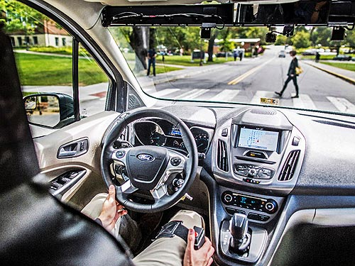 Ford разработал язык общения для беспилотных автомобилей - Ford