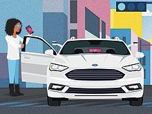 Ford будет продвигать беспилотные такси - Ford