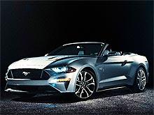Представлен новый Ford Mustang, который появится в Европе через год. Фото