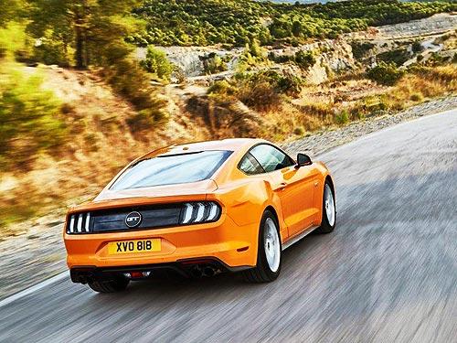 Обновленный Ford Mustang появится в Европе в 2018 году - Ford