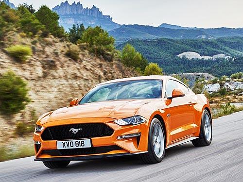 Ford Mustang дополнительно получит ряд новых опций