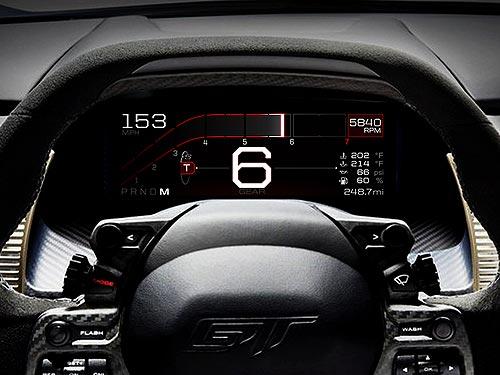 Ford разработала полностью цифровую панель приборов - Ford