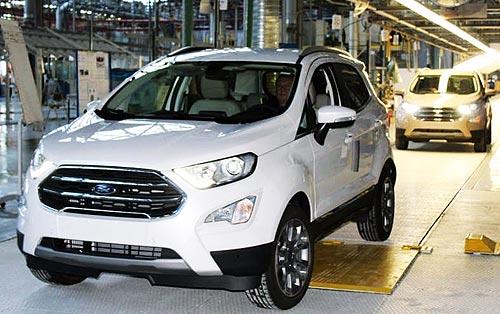 Обновленный кроссовер Ford EcoSport начали выпускать в Румынии - Ford