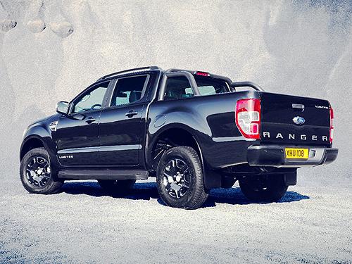 Во Франкфурте Ford представит эксклюзивный пикап Ford Ranger Black Edition - Ford