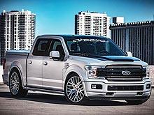 Ford представил «заряженные» внедорожники на SEMA 2017 - Ford