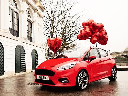 Как Ford помогает праздновать День святого Валентина. Видео - Ford