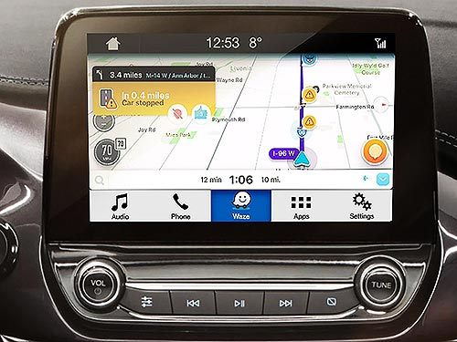 В мультимедийную систему Ford SYNC 3 интегрируют приложение Waze - Ford