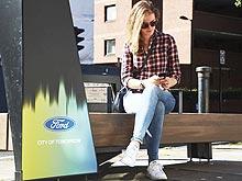 Ford установит «умные» скамейки