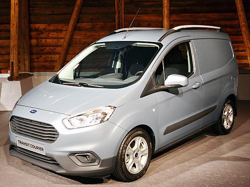 Ford рассекретил новое поколение Transit Connect и Transit Courier - Ford