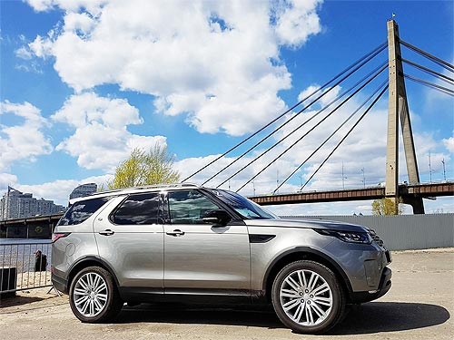 В Украине представили новый Land Rover Discovery. Чем удивляет новинка?