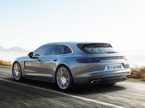 В Женеве дебютирует Porsche Panamera Sport Turismo с кузовом универсал - Porsche