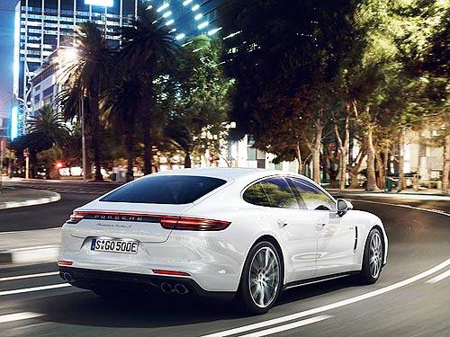 Porsche представит еще одну гибридную версию Panamera Turbo S E-Hybrid мощностью 680 л.с. - Porsche