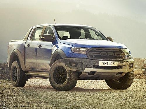 Ford выводит на европейский рынок самый мощный и экстремальный Ford Ranger Raptor