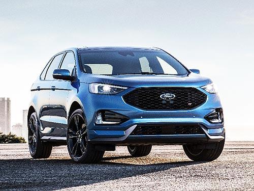 На автосалоне в Детройте Ford представил свой первый спортивный SUV Ford Edge ST