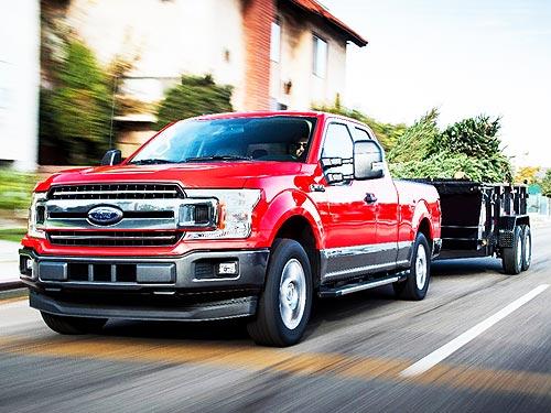 В линейке Ford F-150 будет доступен мощный дизельный двигатель - Ford