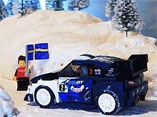 В серии гоночных автомобилей LEGO появилась Ford Fiesta