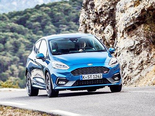 Незнакомые облики нового Ford Fiesta - Ford