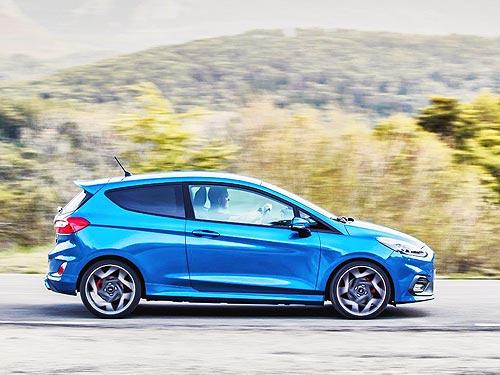 Новый Ford Fiesta ST получил 200-сильный мотор - Ford