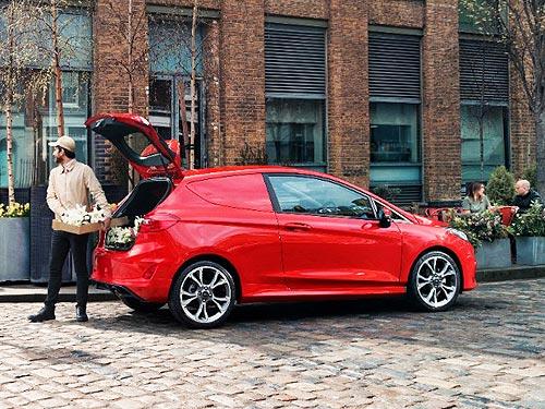 Ford представил новую коммерческую модель Fiesta Van - Ford