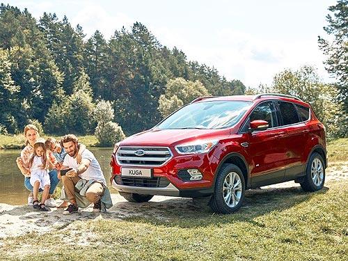 Кроссовер Ford Kuga демонстрирует стремительный рост продаж