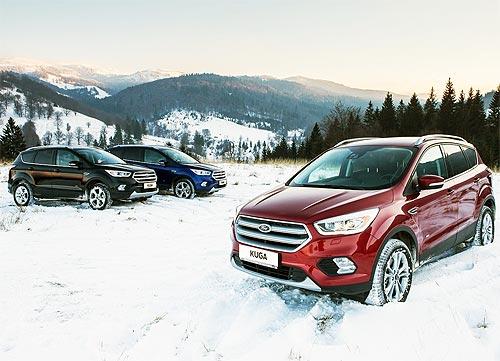 Кроссоверы Ford доступны по специальным ценам