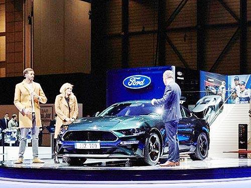 Ford возрождает легендарный Ford Mustang Bullitt