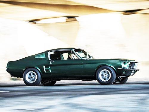 Ford возрождает легендарный Ford Mustang Bullitt - Ford