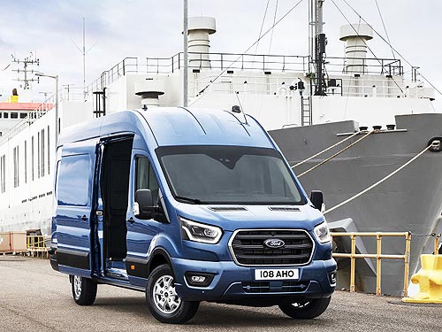 В Ганновере представили новый Ford Transit грузоподъемностью 2 т